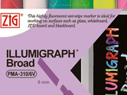 ZIG Illumigraph Liquid Chalk