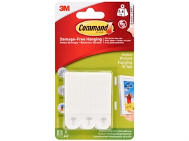 3M Command Picture Hanging Strips 17201