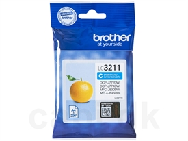 Brother LC-3211C Blækpatron LC3211C