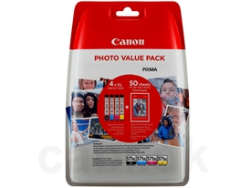 Canon CLI-571XL Photo Value Pack 0332C005