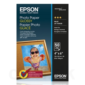 Epson Glossy Photo Inkjet Papir C13S042547