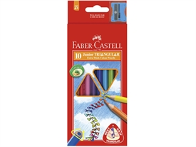 Faber-Castell Junior Triangular Farveblyant 116538