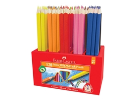 Faber-Castell Junior Triangular Farveblyant 116541