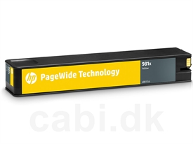 HP No. 981X PageWide Cartridge L0R11A