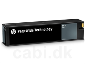 HP No. 981X PageWide Cartridge L0R12A