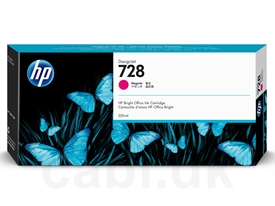 HP No. 728 DesignJet Ink Cartridge F9K16A