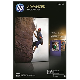 HP Advanced Glossy Photo Inkjet Papir Q8691A