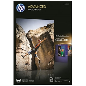 HP Advanced Glossy Photo Inkjet Papir Q8697A