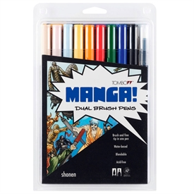 Tombow ABT Dual Brush Manga ABT-10C-MANGA1