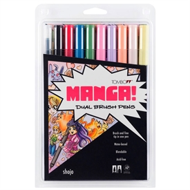 Tombow ABT Dual Brush Manga ABT-10C-MANGA2